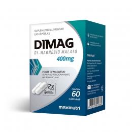 Dimag Di-Magnésio Malato 400mg (60 caps)